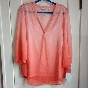 NWT! Liz Claiborne PLUS Top